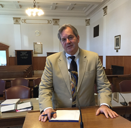 Personal Injury Attorney in courtroom